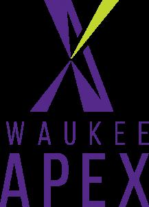 Waukee APEX logo-vertical