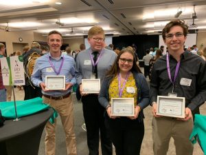 FBI Student Associates take third at JA Stock Market Challenge
